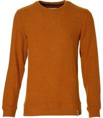 anerkjendt pullover - slim fit - oranje