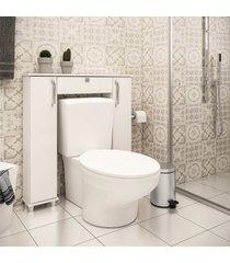 balcã£o para vaso sanitã¡rio 2 mã³dulos 1 gaveta lilies mã³veis - branco - dafiti