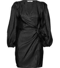 magnolia short dress 11244 kort klänning svart samsøe samsøe