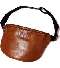 pochete line store leather couro whisky rústico.