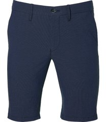 hensen short - slim fit - blauw