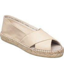 ginger nappa sandaletter expadrilles låga rosa pavement