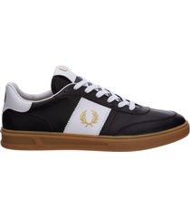scarpe sneakers uomo in pelle b400