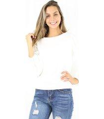 blusa violeta blanca jacinta tienda