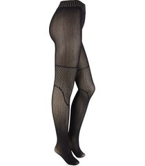 wolford women's electric affair tights - black - size s