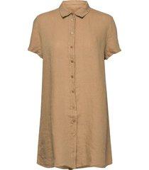 brielle linen tunic dresses everyday dresses beige mos mosh