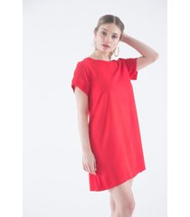 vestido rojo a.d.e.