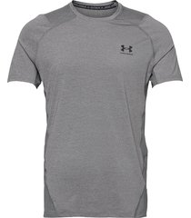 ua hg armour fitted ss t-shirts short-sleeved grå under armour