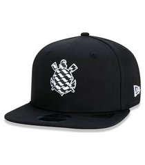 boné new era 9fifty original fit sn corinthians preto