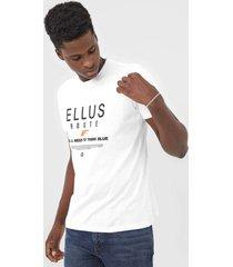 camiseta ellus route branca