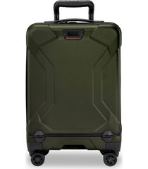 briggs & riley torq 21-inch international wheeled carry-on - green