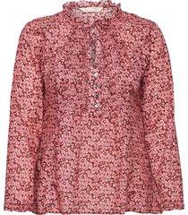 jordyn long blouse blouse lange mouwen rood odd molly