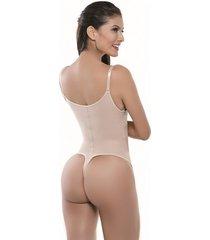 body espalda alta estilo brasilera beige