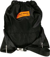heron preston nylon gyn drawstring backpack