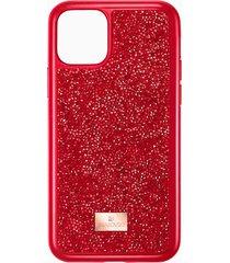 custodia per smartphone glam rock, iphoneâ® 11 pro, rosso