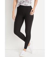 maurices womens high rise ultra soft black leggings