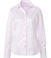 blouse 100% katoen lange mouwen van eterna lichtroze