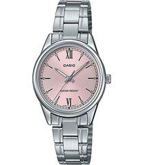 reloj casio ltp-v005d-4b2udf plateado acero inoxidable