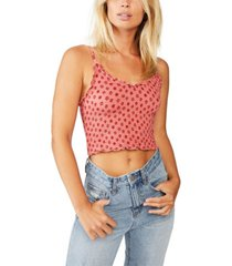cotton on ida rouched strappy cami top