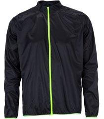jaqueta corta-vento de ciclismo refactor spectre - masculina - preto