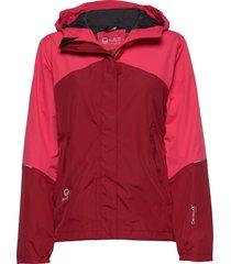 caima women's dx shell jacket outerwear sport jackets röd halti