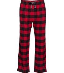 flannel pajama pants mjukisbyxor röd gap