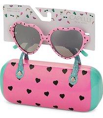 kid's 2-piece sunglasses & hard case set