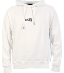 dsquared2 icon hoodie white