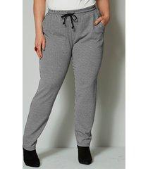 sweatpants angel of style zwart::wit