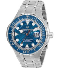 reloj technomarine modelo tm-118071 plata hombre