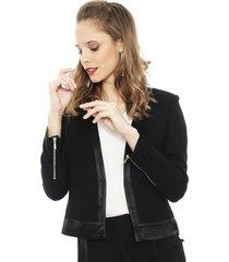 blazer ash negro - calce ajustado