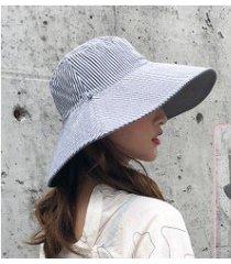 nuevo protector solar para mujer, sombrero para el sol gris