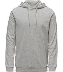 enno hoodie ls 7057 sweat-shirts & hoodies hoodies grijs samsøe & samsøe
