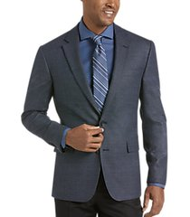 awearness kenneth cole navy tic modern fit sport coat