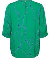 blouse gedessineerde