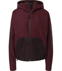 blazer adidas back-to-sports 3-stripes hooded insulated jack