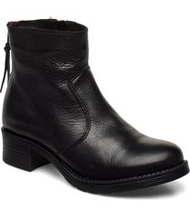 kelly wool shoes boots ankle boots ankle boots flat heel svart pavement