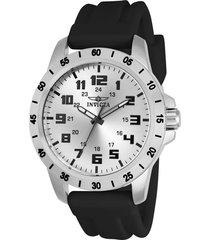 reloj invicta 21834 negro poliuretano