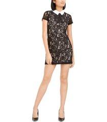 betsey johnson collared lace shift dress