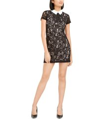 betsey johnson collared lace shift dress