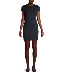 delos tie-back mini dress