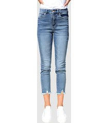jeans dress in blue stone