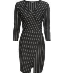 abito di jersey (nero) - bodyflirt