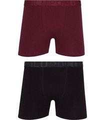 kit com 2 cuecas boxer de algodão 784-088 lupo
