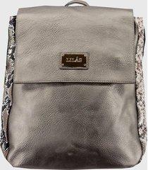 mochila urbana herlina cobre lilas carteras