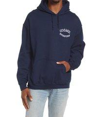 men's altru men's cosmic evolution graphic hoodie, size xx-large - blue