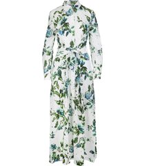 blumarine blumarine floral print long dress