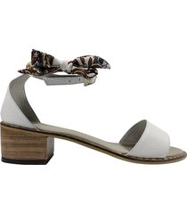sandalia blanco versilia fauna/003569