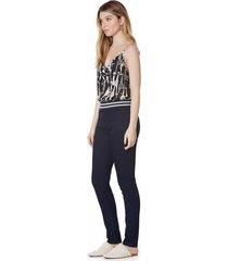 calca zinco jegging cos intermediario detalhe elastico jeans