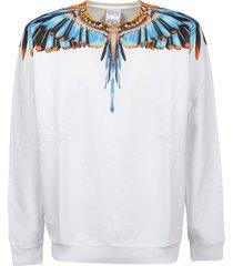 marcelo burlon sweatshirt grlizzly wings regular